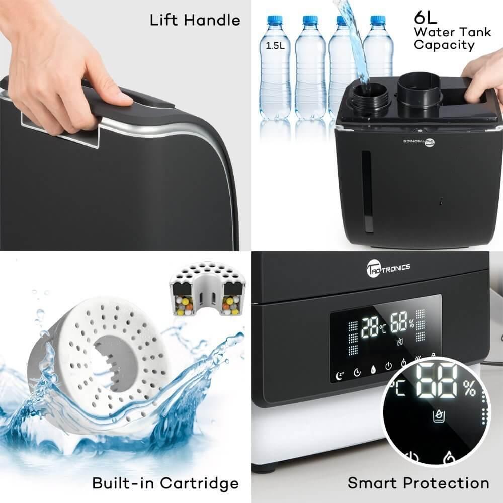 TaoTronics umidificatore d'aria ultrasonico