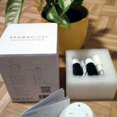 Test del diffusore di aromi Pebble