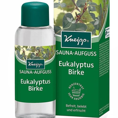 Test fragranza sauna Kneipp